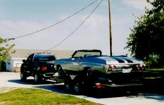 Aluminum Rollback Car Hauler Trailer in TX